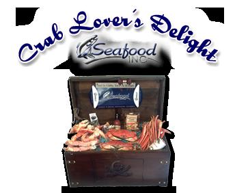 Seafood Gift Baskets - Dungeness Crab - Snow Crab - King Crab