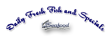Fresh seafood baskets for Daily fresh fish